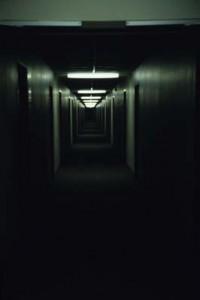 The Corridor, Iowa City, 1985