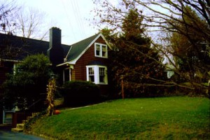 Donald Evans'Home, Morristown, New Jersey, 1985
