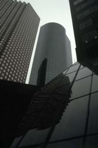 Skyscrapers, Houston, 1986